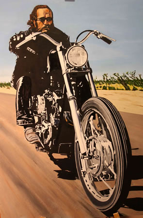 The Outlaw - Painting by Dave