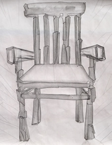 Sketch of a Chair