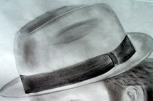 A Hat - drawing