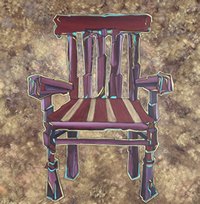The Chair - painting and picture by Giselle
