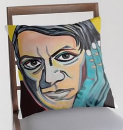 Picasso Pillowcase Design by Giselle Art