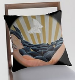 Pillow Designs by Giselle Artist