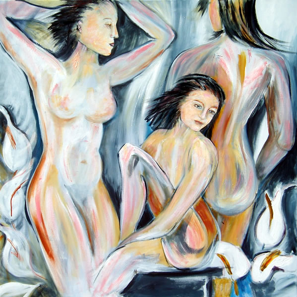Day Spa - Nude Figure Painting