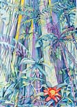 Rain Forest - painting by Giselle