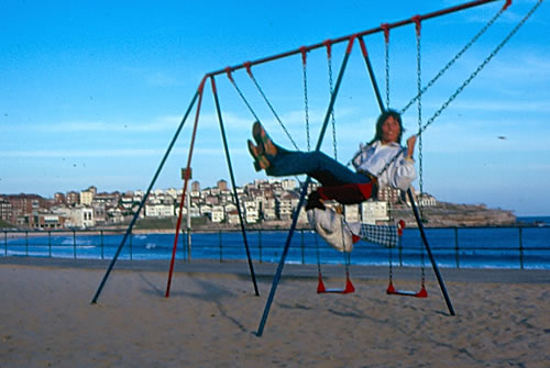 Picture - Bondi Beach Swing