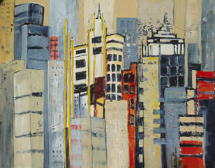 Abstracted Highrise Buildings