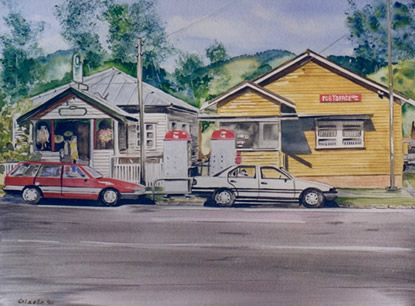 Canungra 1990 - Post Office