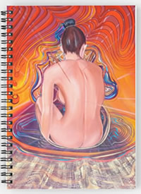 Acupuncture Notebook - by Giselle