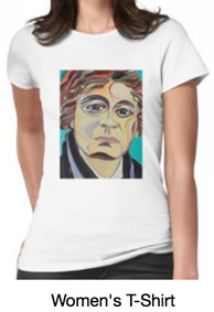 Chagall Portrait T-shirts by Giselle