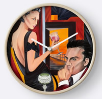 Couple Therapy - Time- Painting by Giselle