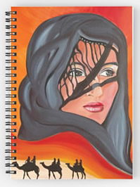 Mirage - Lady of the Desert - Painting by Giselle