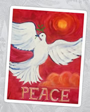 Peace Please Painting by Giselle