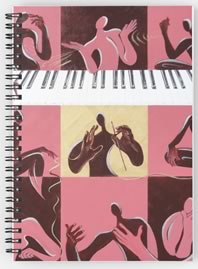 Music Therapy Spiral Notebook