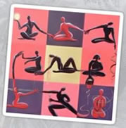 Yoga Print designs by Giselle