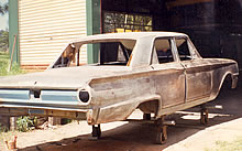 Ford - Body - ready for painting