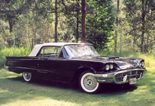 Restored Ford Thunderbird