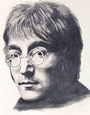 John Lennon - Drawing