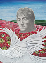 John Lennon - Portrait - Strawberry fields forever