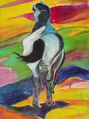 Horse - Franz Marc by Giselle